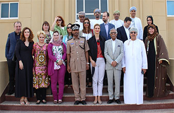 Friends of oman group in the  european parliament visits sezad