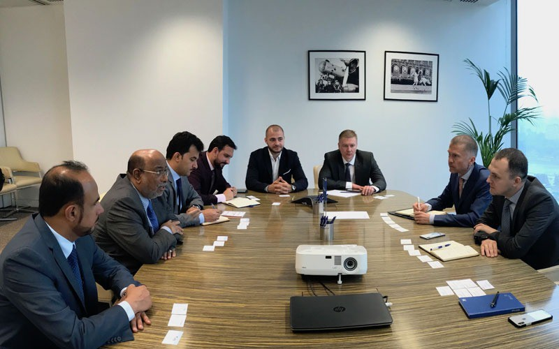 Review of cooperation opportunities with financial institutions in Moscow