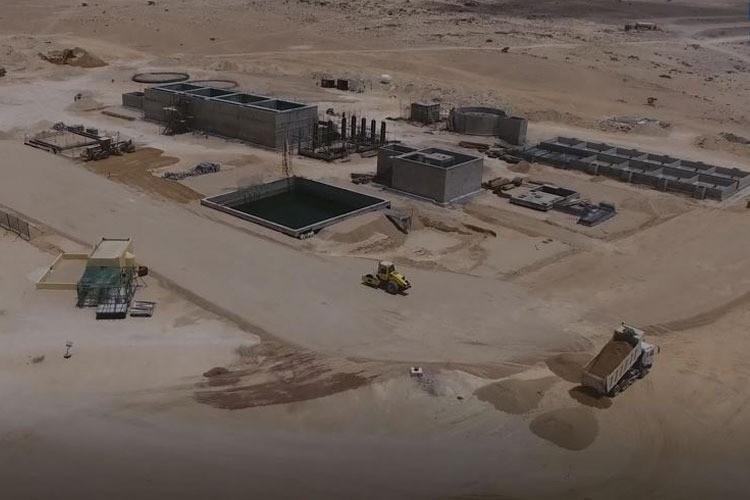 Design & Construction of Sewage Treatment Plant for Duqm City